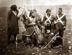 Crimean War - Hungarian general Kmety - by Roger Fenton, 1855