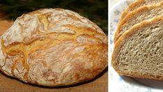 Čerstvý a křupavý domácí chléb připravený za 30 minut! | Milujeme recepty