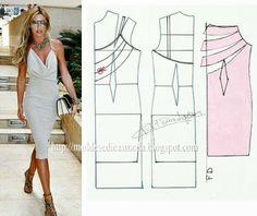 Dress patterns (potougese site)  copy link into google translate