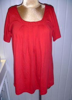 Kup mój przedmiot na #vintedpl http://www.vinted.pl/damska-odziez/tuniki/9870169-czerwona-dluzsza-bluzka-tunika