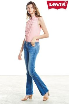 Levi's® Pink Sleeveless Blouse