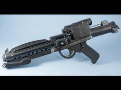 Star Wars Stormtrooper Plastic E11 Blaster Prop Build - YouTube