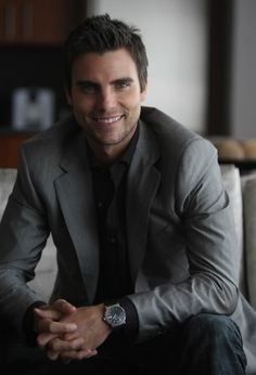 """Colin Egglesfield! Hey, this guy! We just know him as the guy from """"something borrowed"""""""