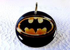 Cat Pet Tag Dog Tag Pet ID Tag Superhero Dark Knight by ID4Pet, $14.99
