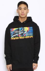 The Hundreds x Hook Up Clothing, Adam Red Eyes Pullover Hoodie - Black