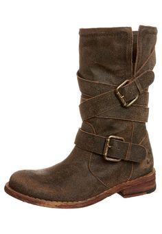 Felmini - Gredo - cowboy / biker ankle boots - tobacco i need these freaking boots!!!!!