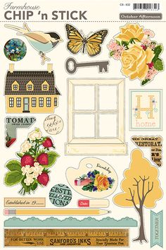 in love with October Afternoon. wonderful papercraft, scrapbook, and all things crafty