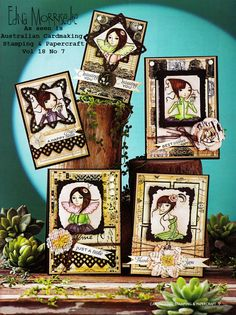 Stamps Paper Happiness--Leanne Ellis Card Publication, Australian Cardmaking, Stamping & Papercraft.