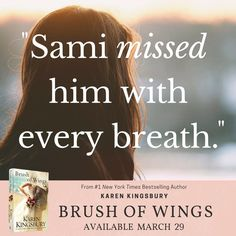 """Karen Kingsbury's """"Brush of Wings"""" releases March 29!! The 3rd and final book in the """"Angels Walking"""" series. Pre-order now! @AuthorKingsbury"""