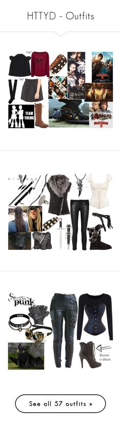 """""""HTTYD - Outfits"""" by annabellewren ❤ liked on Polyvore featuring HowToTrainYourDragon, httyd, Fantasy Jewelry Box, Aéropostale, Hurley, DreamWorks, modern, Henry Beguelin, AllSaints and Australia Luxe Collective"""