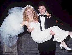 1991 wedding of actors Kelly Preston and John Travolta.