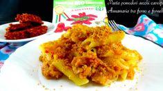 Pasta con Capuliato, cavolfiore e tonno Pasta, Italian Recipes, Meat, Chicken, Cooking, Food, Beef, Meal, Kochen