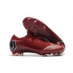 33dfd9fa129 Nike Mercurial Vapor 12 Elite FG Man Boots - Red Black