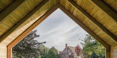 #Pavilions Ökonomiebau by JAN RÖSLER ARCHITEKTEN in Abbendorf, Germany