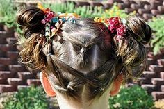The Backside Hairstyle @ Princess Piggies