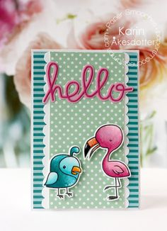Peppermint Patty's Papercraft: Paper Smooche's November release #4 Hello birds