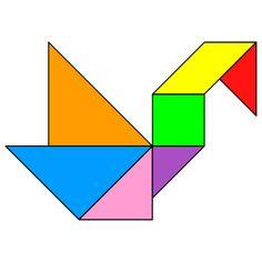 Tangram Swan 2