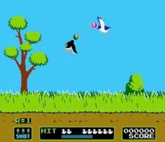1st console game to use a gun attachment lol ...i loved duck hunt!!!