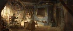 Beauty-and-the-Beast-Concept-Art-Disney-Karlsimon-Windmill_happy_L.jpeg (2500×1064)
