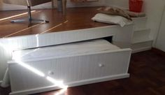 Room platform for pullout bed
