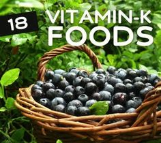 The Big Diabetes Lie - 18 Foods High in Vitamin K for Stronger Bones - Doctors at the International Council for Truth in Medicine are revealing the truth about diabetes that has been suppressed for over 21 years. Health And Nutrition, Health And Wellness, Health Foods, Health Diet, Holistic Wellness, Health Recipes, Health Benefits, Vitamin Rich Foods, Vitamin B12