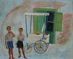 spyros vassiliou 1902-1985 Painter Artist, Artist Art, Modern Art, Contemporary Art, Greece Painting, 10 Picture, Greek Art, Conceptual Art, Great Artists