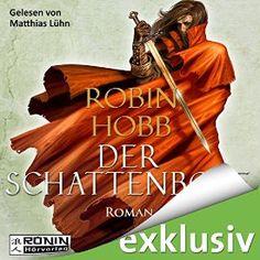 """Ich habe mir gerade """"Der Schattenbote (Die Weitseher-Trilogie 2)"""" von Robin Hobb, gesprochen von Matthias Lühn, gekauft. #AudibleApp"""