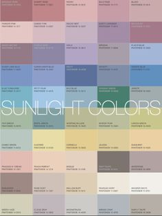 More Alive With Color - Sunlight (neutral) colors