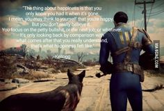 My favorite quote from Fallout 4