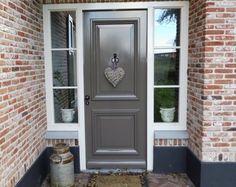 Iron Gates, Painted Floors, Floor Finishes, Bungalow, Kitchen Decor, Sweet Home, New Homes, Farmhouse, Windows