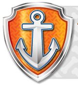 White and orange anchor logo, Badge Dog Zuma Sea Patrol: Pups Save a Baby Octopus, Dog transparent background PNG clipart Rubble Paw Patrol, Paw Patrol Png, Paw Patrol Wall Decals, Paw Patrol Tower, Paw Patrol Badge, Pup Patrol, Paw Patrol Party, Paw Patrol Birthday, Zuma Paw Patrol Costume