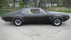 1969 Oldsmobile W31 Club Coupe, HiPerf Rocket 350/325hp 4bbl V8, M21 4speed, G80 3.91 Posi
