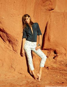 Moda verano 2016 jeans Tucci.
