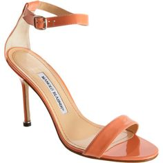 Manolo Blahnik Oriange Chaos Sandals [thebest1703] - $195.00 : Discounted Christian Louboutin,Jimmy Choo,Valentino Shoes Online store