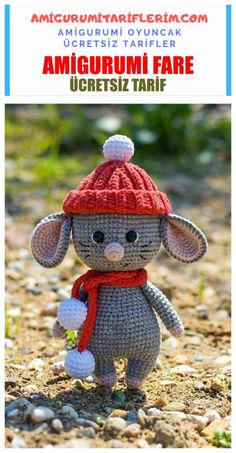 In this article we will share the amigurumi cute mouse crochet free english pattern. Amigurumi related to everything you can not find and share with you. Crochet Cat Pattern, Crochet Mouse, Crochet Animal Patterns, Crochet Patterns Amigurumi, Stuffed Animal Patterns, Amigurumi Doll, Crochet Animals, Stuffed Animals, Free Crochet