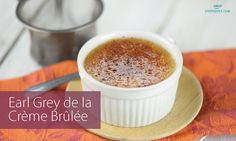 Just a few very simple ingredients yields the most delicious tea-infused dessert! This Earl Grey de la Créme Brûlée is going to impress every guest.