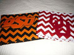 Hey, I found this really awesome Etsy listing at https://www.etsy.com/listing/94455949/ou-or-osu-chevron-baby-blanket