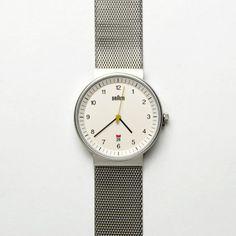 Braun Men's Watch - Mesh Band - FashionFilmsNYC.com