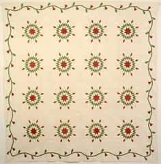 Stars Upon Stars Quilt, c. 1880 by Grandmother Young