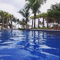 An afternoon pool day in Puerto Rico