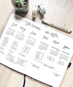 Bullet Journal Future Log Layout, Creating A Bullet Journal, Bullet Journal Cover Ideas, Bullet Journal Hacks, Bullet Journal How To Start A, Bullet Journal Aesthetic, Bullet Journal Writing, Bullet Journal Ideas Pages, Bujo