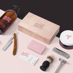 Andrée Daisley Barber Shop — The Dieline - Branding & Packaging Design Brand Identity Design, Graphic Design Branding, Graphic Designers, Fashion Branding, Design Innovation, Feeds Instagram, Stationary Branding, Stationery, Barbershop Design