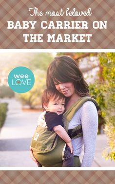 One of the most comfortable carriers on the market--parents love @ergobaby! #lovecarrieson