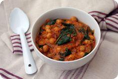 curry de pois chiches aux epinards blog chez requia cuisine et confidences