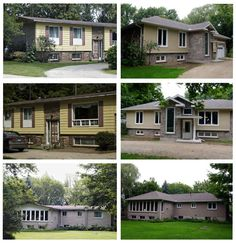 Attirant Split Entry Remodel Before And After   Bing Images. Split Level Entry  Addition House ...