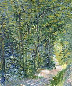 Vincent van Gogh, Forest trail