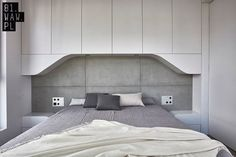 Zdjęcie numer 8 w galerii - Biel i beton. Nowoczesne mieszkanie pełne…