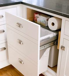 1000 images about Kitchen trash storage on Pinterest