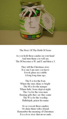 The Story of Christmas (M&Ms;)