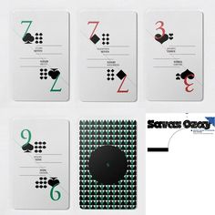 Playing card designs | how gorgeous are these playing cards
